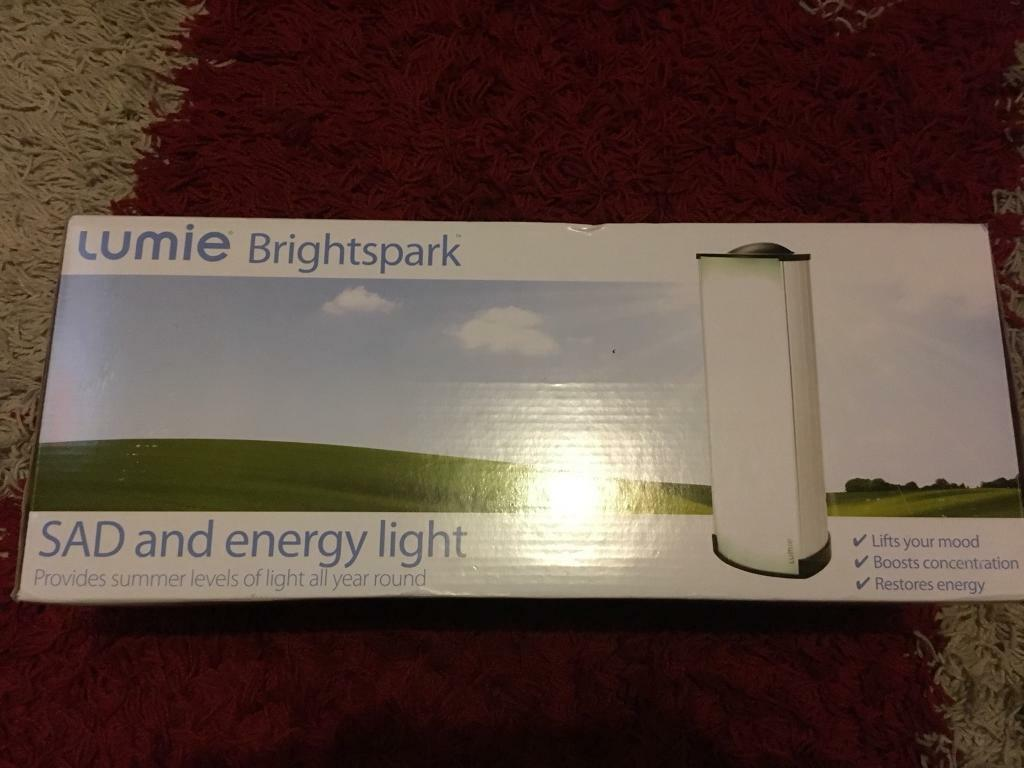 LUMIE BRIGHTSPARK SAD AND ENERGY LIGHT