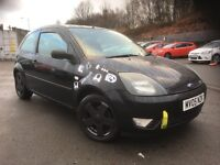 05 FORD FIESTA 1.4 FLAME 3DR PANTHER BLACK DRIVES AND LOOKS GREAT 12 MONTHS MOT