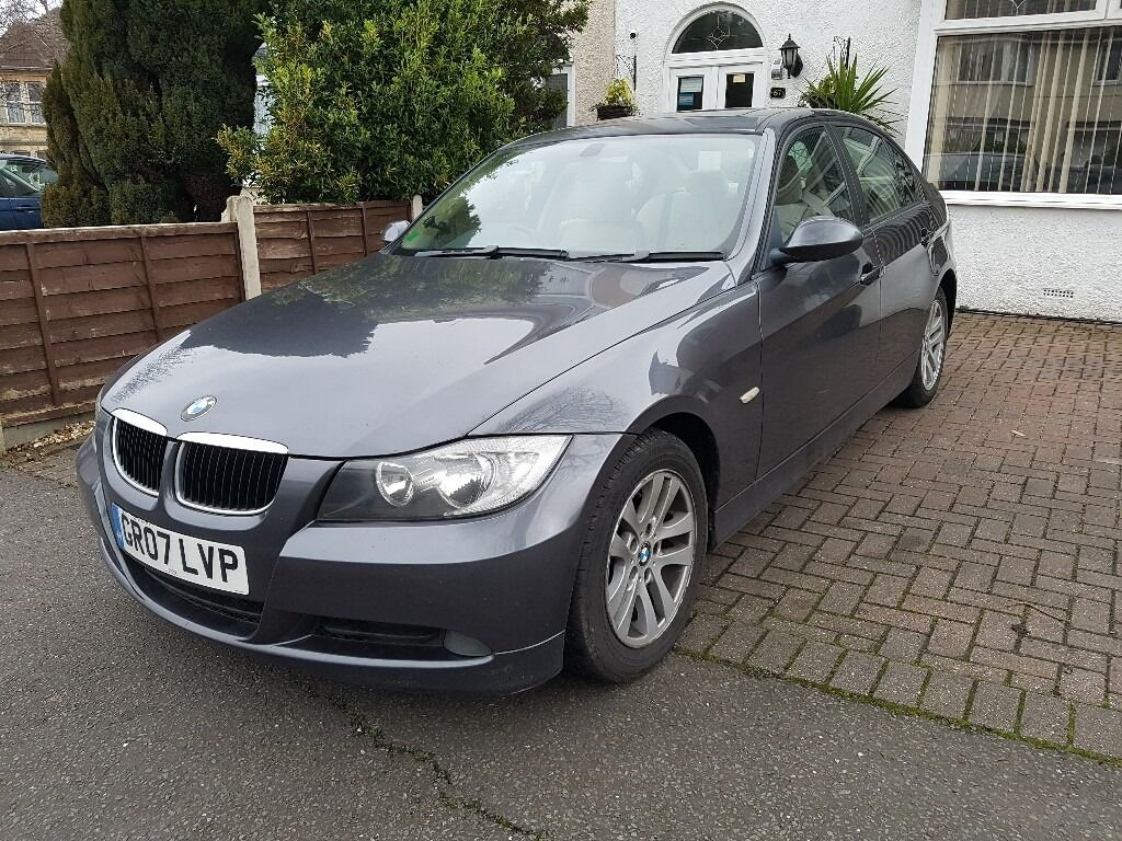 bmw 320d auto e90 grey cream leather heated seats 12 mth mot and service history in filton. Black Bedroom Furniture Sets. Home Design Ideas