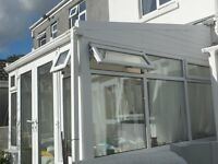 uPVC Conservatory - rectangular shape, good condition, buyer collects