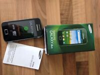 Samsung galaxy ace brand new boxed open to all networks