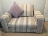 2 seater sofa and large snuggle chair