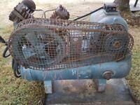 INGERSOLL RAND Vintage (1957) compressor single phase (13amp / 240v)