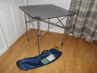 easy camp roll top aluminium camping table