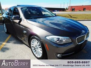2012 BMW 5 Series 535i xDrive **CERTIFIED NAVI XDRIVE** $27,999