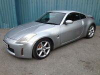Nissan 350Z 2005 MOT March 2018 Leather heated seats, Air-con, 7 inch display ICE with Sat Nav £4500