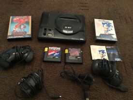 Original sega mega drive &5 games