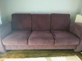 Very comfy 3-seater sofa
