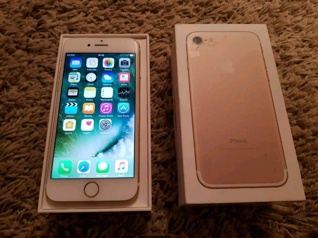 IPHONE 7 256GB GOLD O2 NETWORK