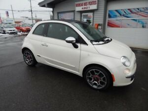 2012 Fiat 500 Lounge/Gucci