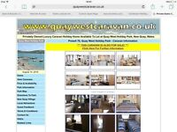Static Caravan 2015 Swift Bordeaux Exclusive at Quay West Holiday Park New Quay