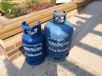 Gas bottle part full 15Kg and/or 7Kg
