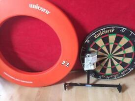 Eclipse dartboard and surround