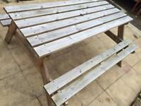 Picnic table / table & chairs (possible delivery)