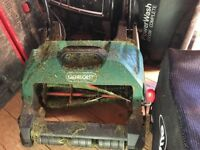 Qualcast Cylinder Electric Lawnmower 400w
