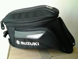 Suzuki motorbike tank bag .