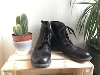 Dark Browm Military Boots on sale. NEW!