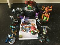 Sky lander giants Wii game, portal and 13 sky landers giants