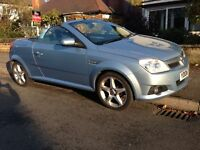 06 Plate Vauxhall Tigra Coupe Roadster Special Eds 1.8i 16v Exclusive 2 door . VERY LOW MILAGE