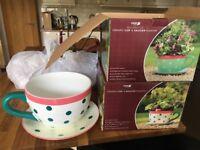 Giant teacup planters