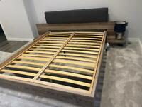 Brand new wooden floating bed. check description quick sale