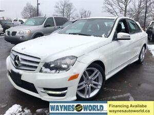 2012 Mercedes-Benz C-Class 250 ***LOADED WITH NAVI**