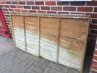 Pair 6 foot x 3 foot fence panels