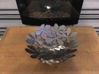 Metal ikea fruit bowl/display bowl