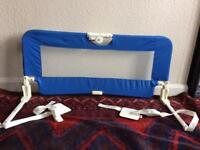 BabyStart bed guard in blue. Child's Bed Guard