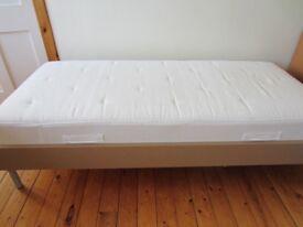 Sturdy Ikea Single Bed + Mattress For Sale