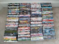 Bulk x 167 DVDs movies mostly action and comedy
