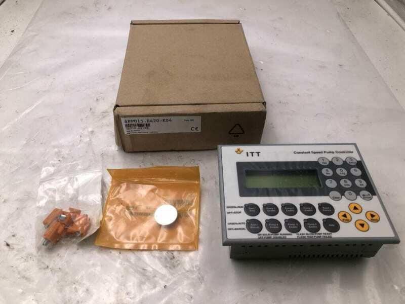 ITT 4PP015.E420-K04 Rev. D0 Constant Speed Pump Controller Panel -NIB