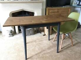Vintage 1960's drop leaf Formica table upcycled with A Sloan