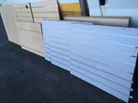 Slatwall slat wall sheets/panels