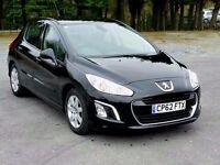£26.50 a Week^2013 62 Peugeot 308 Active 1.6HDi Diesel, Dealer Warranty, One Owner, new MOT, FSH