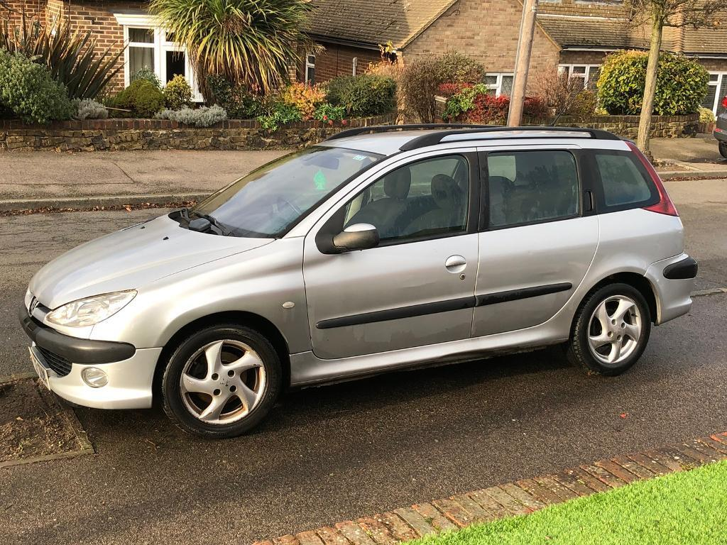peugeot 206 sw 2 0l turbo diesel sold in gravesend kent gumtree. Black Bedroom Furniture Sets. Home Design Ideas