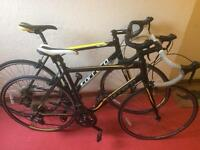 2 for 1 Carrera road bikes
