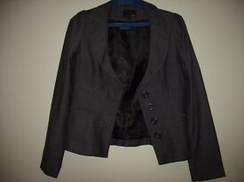 Next Ladies Suit Jacket, Size 8, Colour Deep Purple