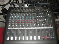 mackie DFX mixing desk 12 channel as new