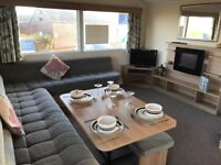Stunning holiday home for sale, Eyemouth premium holiday park, Sea views and Beach acess