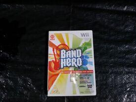 Wii Band Hero Game