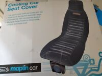 New Cooling car seat cover. 12 Volts