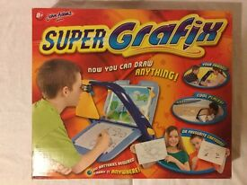 """SUPER GRAFIX"", only used twice, in great condition. 'Now you can draw almost anything!'"