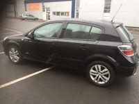 Vauxhall Astra sxi in black 5door alloy wheels petrol 1.6 mint condition