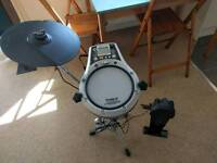 Practice Roland drum kit. All in photo included except snare stand