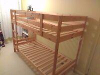 Bunk bed - IKEA Mydal (pine wood)