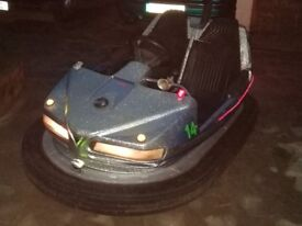 Working Dodgem Bumper Car based on mobility scooter