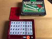 Mah Jongg set as new