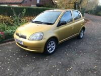 2001 Toyota Yaris AUTOMATIC 12 Months mot 63000 miles hpi clear learners car popular export