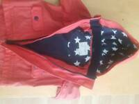 Red next coat